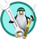 logo officina linux